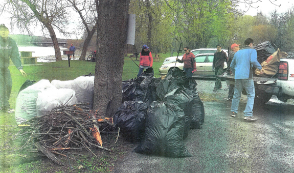 Canal Sweep Clean Up